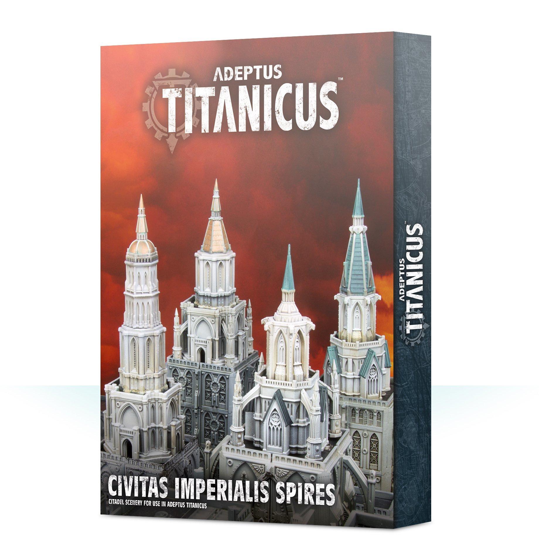 Adeptus Titanicus Civitas Imperialis Spires