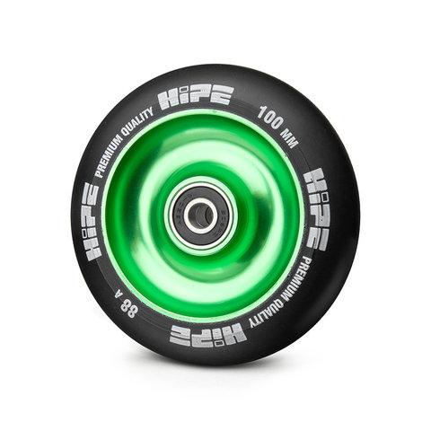 колесо HIPE артикул 251302 зеленый-черный