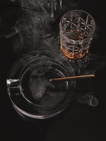 Пепельница круглая Ashtray Round артикул 52814. Серия Cigar