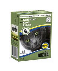 BOZITA консервы для кошек кусочки в соусе с кроликом 370 г