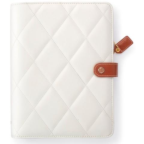 Планер с наполнением. Не датирован. Color Crush A5 Faux Leather Planner Kit   - White Diamond