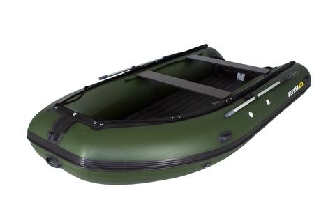 Надувная ПВХ-лодка Солар Максима - 450 К (зеленый)