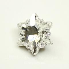 4753 Ювелирные стразы Сваровски Эдельвейс Crystal (14 мм)