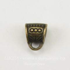 Бейл 7х8х5 мм (цвет - античная бронза)
