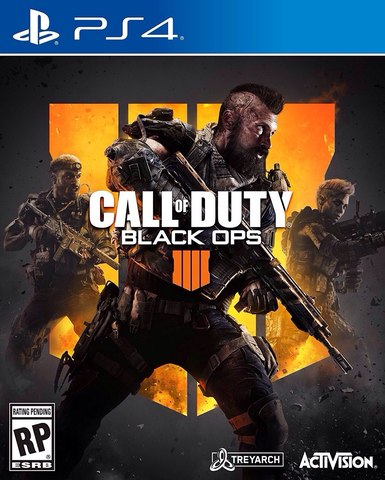 PS4 Call of Duty: Black Ops 4 (русская версия)