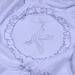 Летний конверт Нежность (белый)