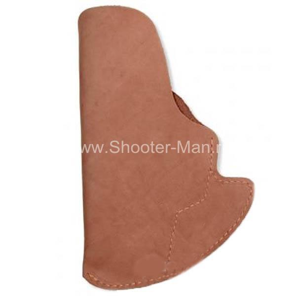 Кобура скрытого ношения для пистолета Гроза - 04 поясная ( модель № 14 )