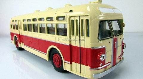 ZIS-154 red-beige Classicbus 1:43