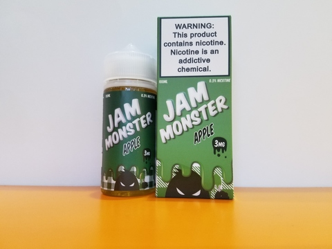 APPLE by JAM MONSTER 100ml