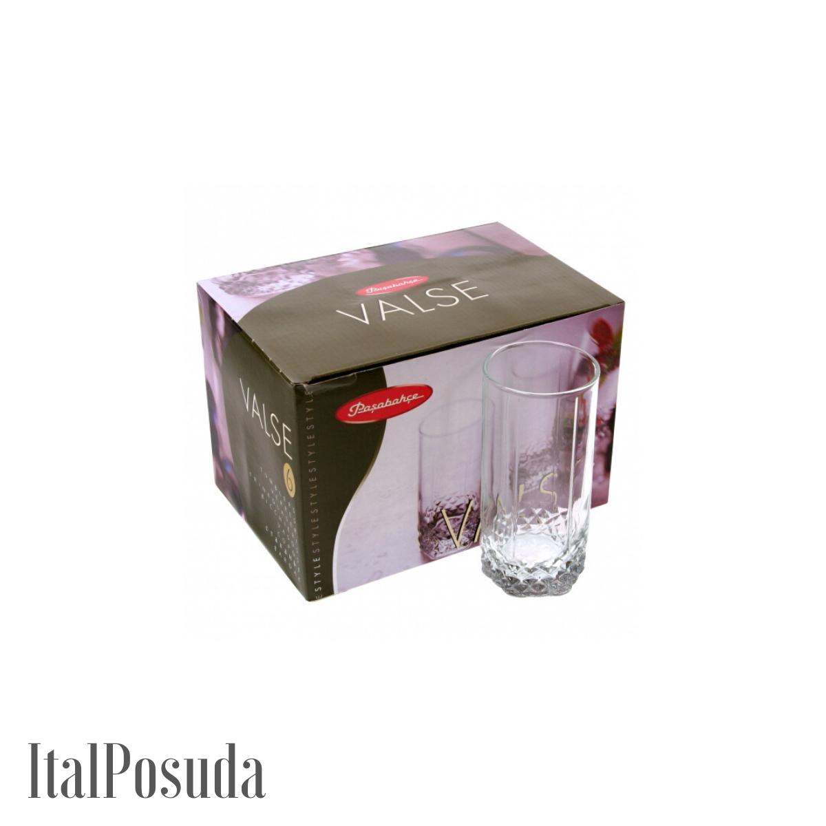 Набор стаканов Pasabahce Valse (Вальс), 6 шт BP42942-1V
