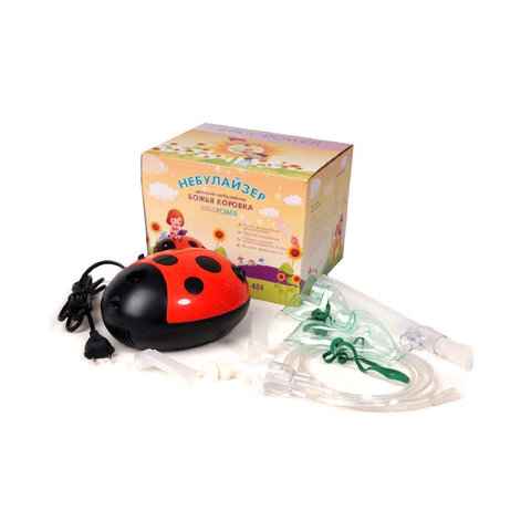 Небулайзер детский ErgoPower ER-404 (божья коровка)