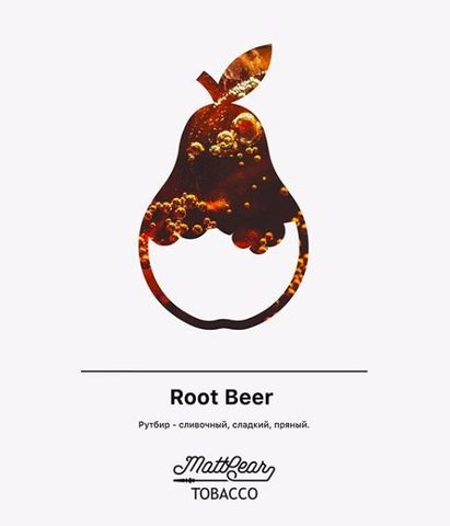 Mattpear Root Beer (Пиво) 50г