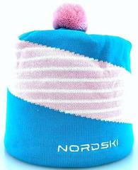 Лыжная шапка Nordski Line Azure