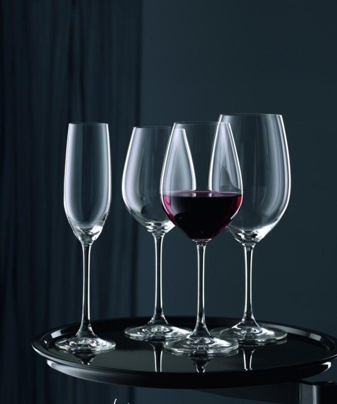 Набор из 4-х фужеров для шампанского Nachtmann VIvino, 210 мл набор фужеров для шампанского vivino хрустальное стекло 4 шт 95864 nachtmann