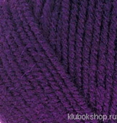 Пряжа Superlana midi Alize 388 Пурпурный, фото