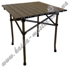 Стол туристический складной алюминиевый 52*52*50 см