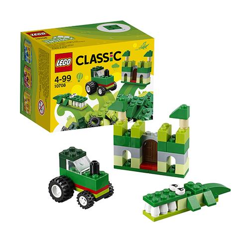 LEGO Classic: Зелёный набор для творчества 10708 — Green Creative Box — Лего Классик