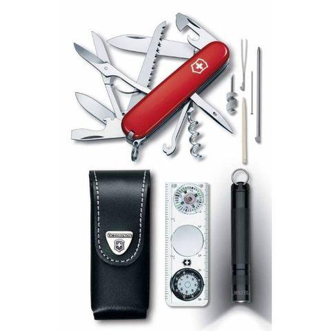 Набор инструментов Victorinox Traveller Set (1.8726) компл.:нож/фонарь/компас/чехол