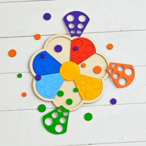 Мозаика сортер Цветик-семицветик