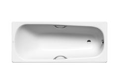 Ванна Kaldewei Saniform Plus Star 336 170х75 отверстия под ручки, easy-clean