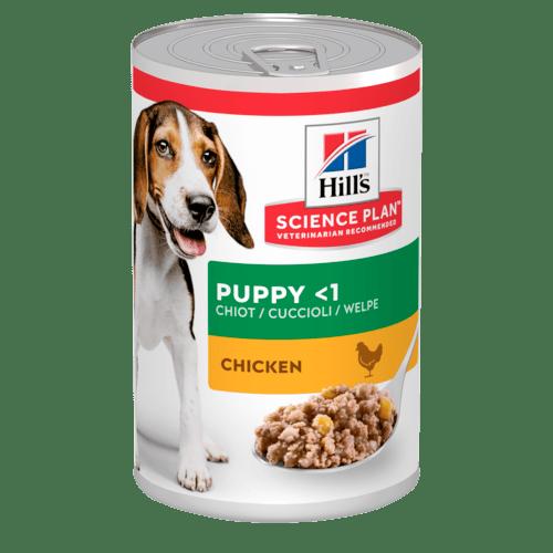 Влажные корма Консервы для щенков Hill`s Science Plan Puppy Savoury, с курицей sp-canine-science-plan-puppy-medium-savoury-chicken-canned-productShot_500.png