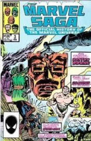 The Marvel Saga: The Official History of the Marvel Universe #3