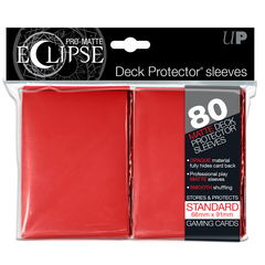 UP Sleeves PRO-Matte Eclipse Red