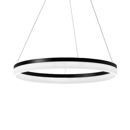Подвесной Led светильник копия Corona by SONNEMAN D80 (черный)