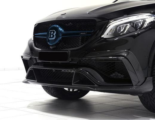 Карбоновая решетка радиатора для Mercedes GLE-Coupe 63 AMG