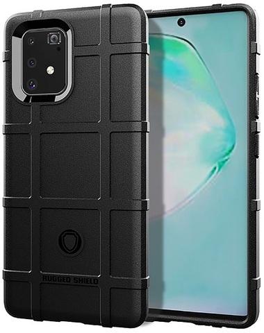 Чехол Samsung Galaxy A91 (M80S) цвет Black (черный), серия Armor, Caseport
