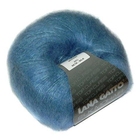 Купить Пряжа Lana Gatto Silk Mohair Код цвета 6034   Интернет-магазин пряжи «Пряха»