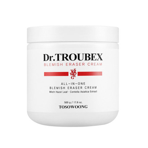 Крем TOSOWOONG Dr.TROUBEX Blemish Eraser Cream 500g