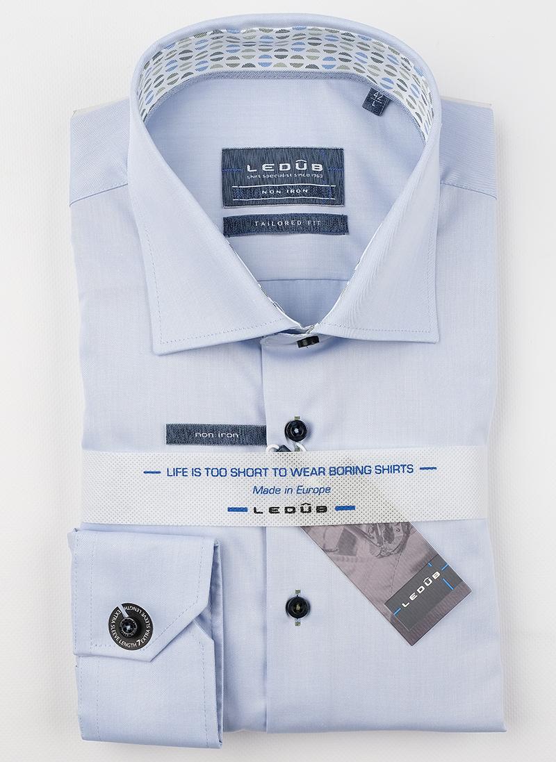 Рубашка Ledub tailored fit 0138577-120-530-171
