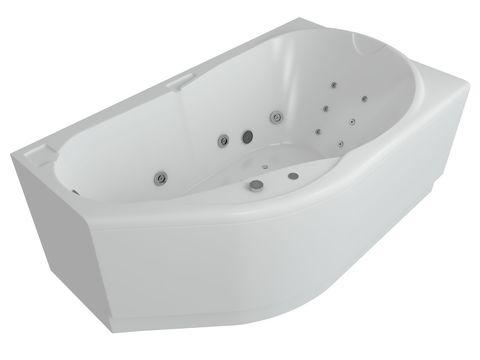 Ванна акриловая Aquatek Таурус  170х100см. на каркасе и сливом-переливом левая/правая