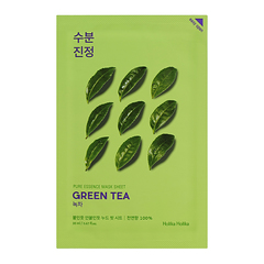Holika Holika  Противовоспалительная тканевая маска Пьюр Эссенс, зеленый чай