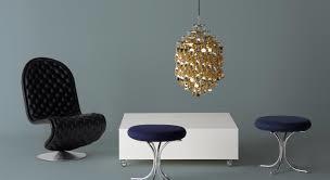 Подвесной светильник копия Spiral SP03 by Verpan Panton (золотой)