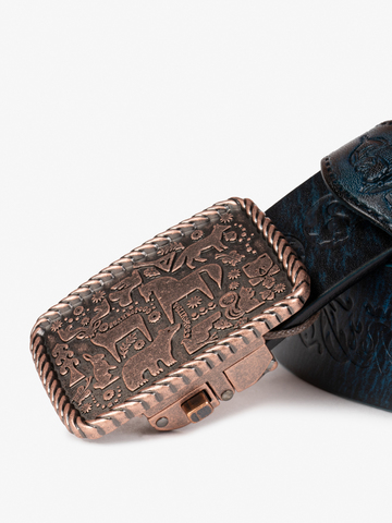 """Belt """"Sochi"""" with automatic buckle"""