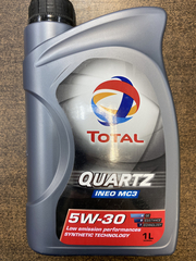 Total Quartz Ineo MC3 5W30 1л