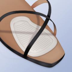 Прозрачные ультратонкие гелевые подушечки для передней части стопы арт PS-18