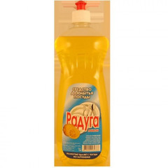 Средство для мытья посуды Радуга лимон 1 л