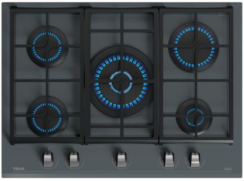 Газовая варочная панель TEKA GZC 75330 XBN STONE GREY