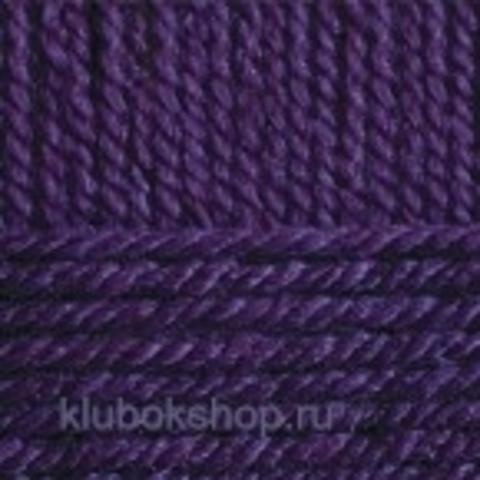 Пряжа Зимняя премьера (Пехорка) 698 Темно-фиолетовый - купить в интернет-магазине недорого klubokshop.ru