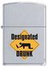 Зажигалка Zippo Designated drunk