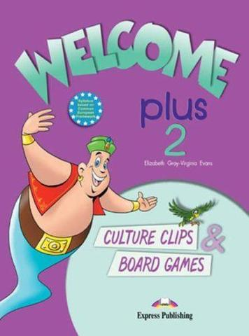Welcome Plus 2. Culture Clips & Board Games. Beginner. Настольные игры