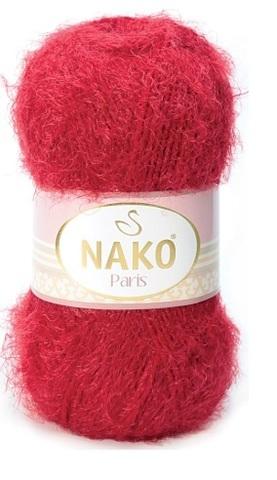 Пряжа Nako Paris 3641 красный
