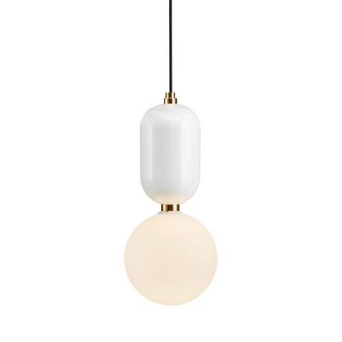 Подвесной светильник Aballs  by Parachilna (белый, D20)