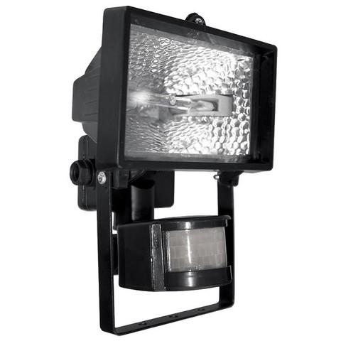 Галогеновый прожектор 150 W, с датчиком движения