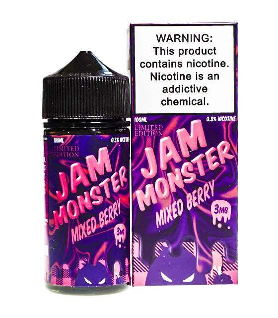 Jam Monster:Жидкость Mixed Berry LE