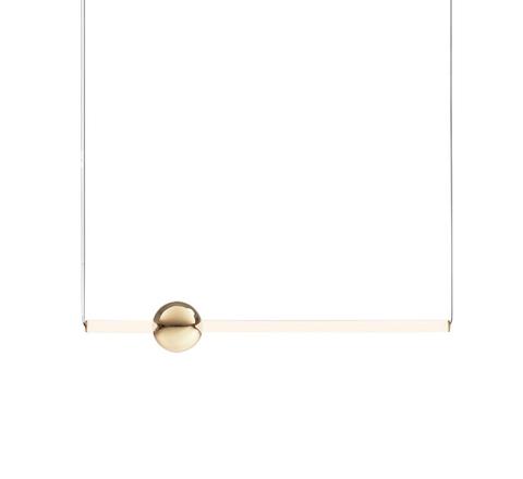 Подвесной светильник копия ORION GLOBE by Lee Broom H90 (горизонтальный, белый)