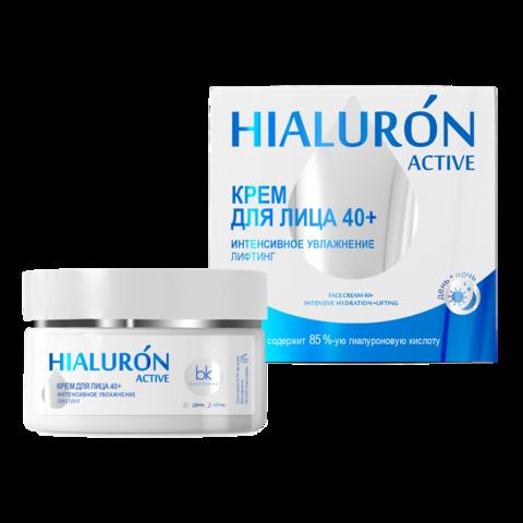 BelKosmex Hialuron Active Крем для лица Интенсивное увлажнение Лифтинг 40+ 48г